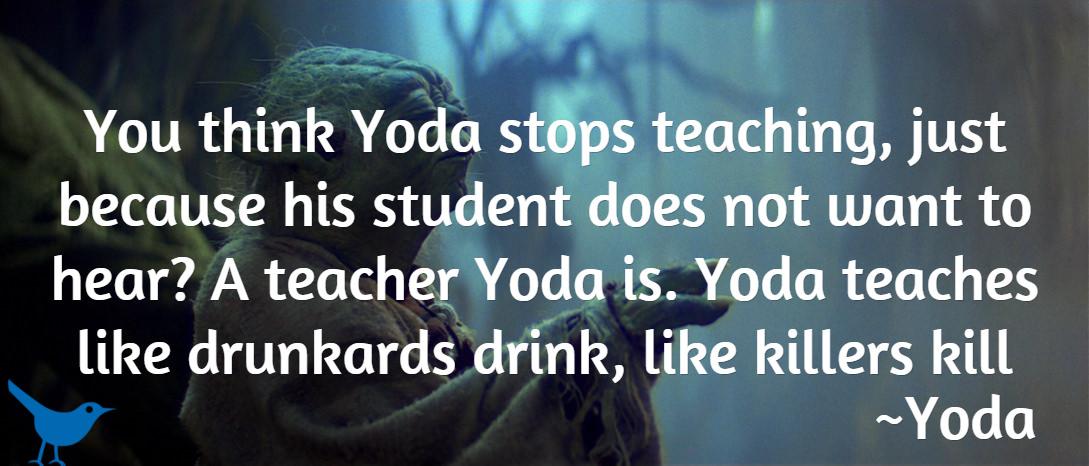 yoda teach