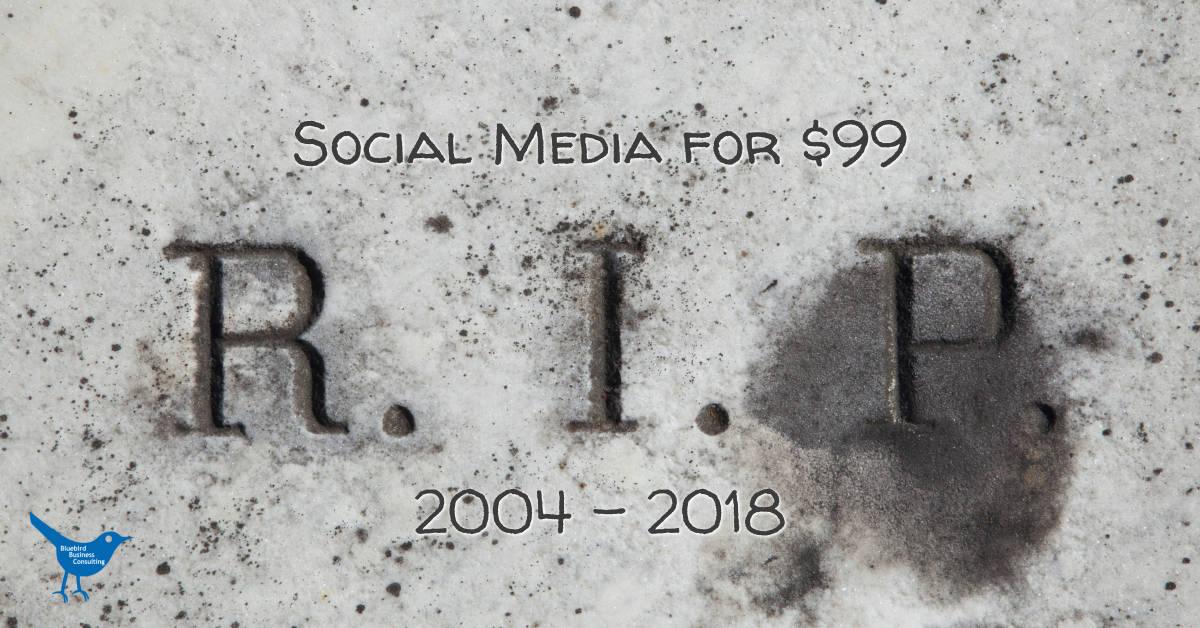 Social Media for $99